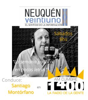 Publicidad programa de radio Neuquén 21