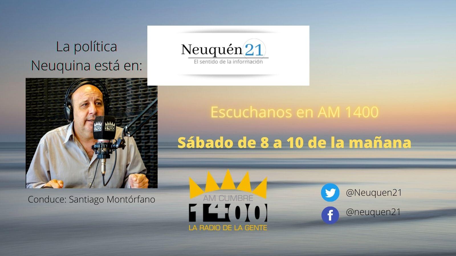 Programa de Radio Neuquén 21 AM Cumbre Neuquén año 2021